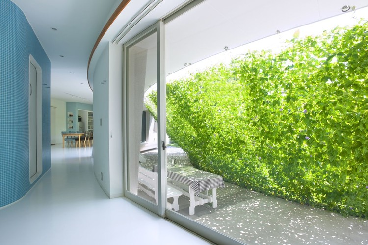 Casa Green Screen / Hideo Kumaki Architect Office, © Yukinori Okamura