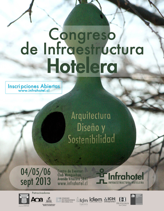 1° CONGRESO DE  INFRAESTRUCTURA HOTELERA en Santiago de Chile / Nuevos Expositores