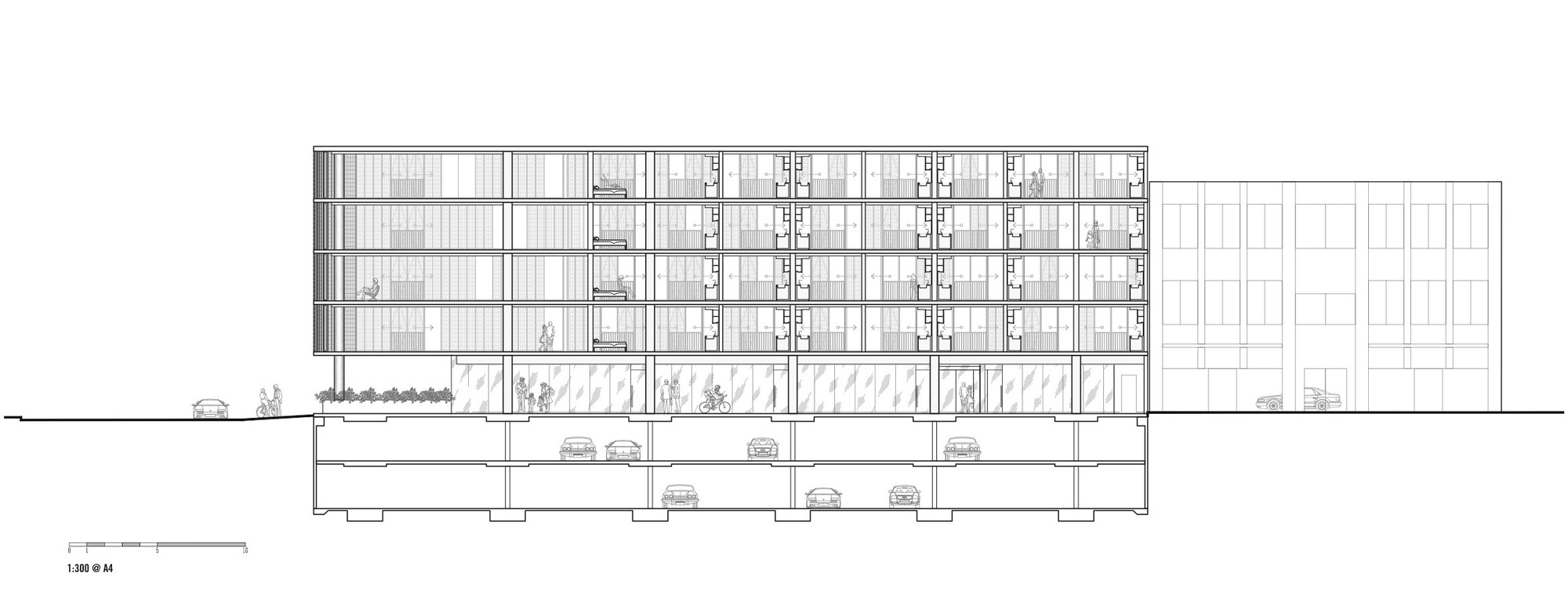 Gallery of Luna Apartments / Elenberg Fraser - 25