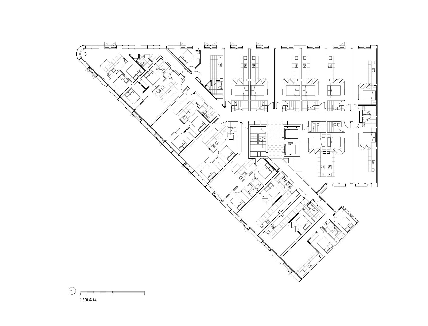Gallery of luna apartments elenberg fraser 21 for 521 plan