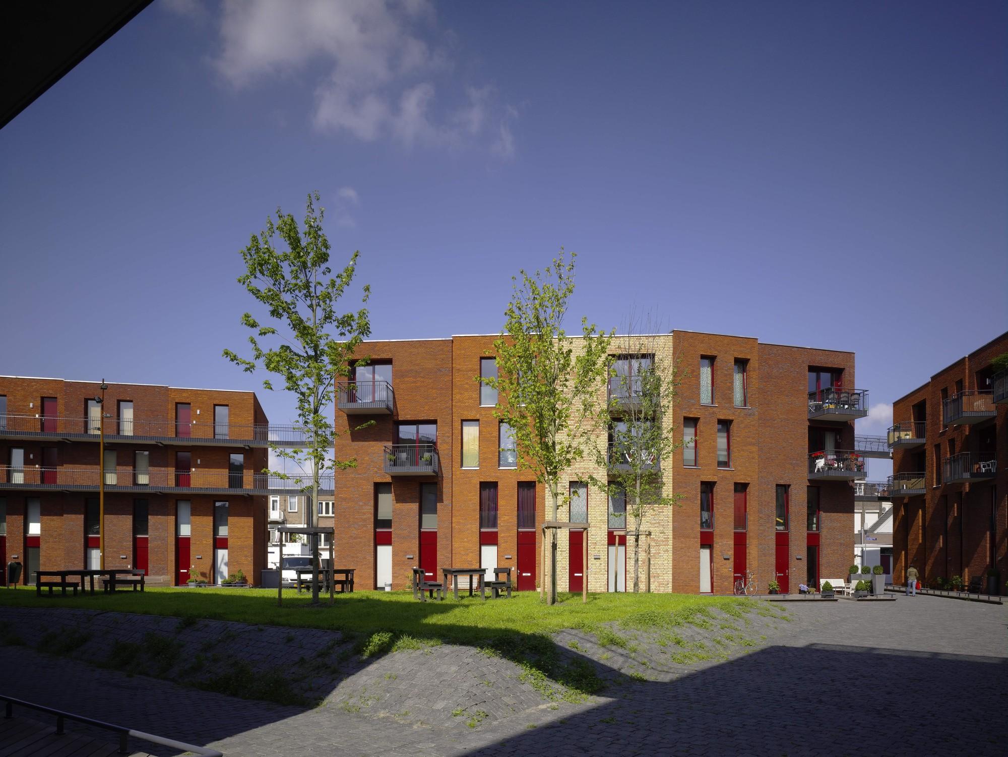 Residential St. Josephhof / Mecanoo, © Christian Richters