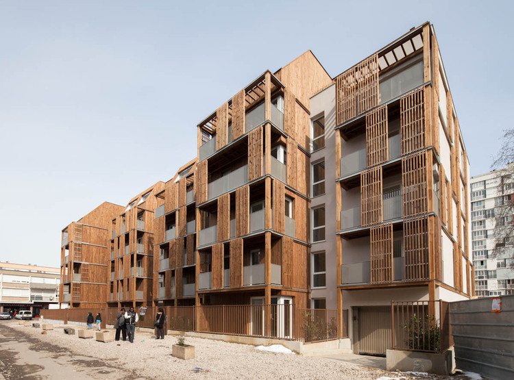 Habitação Social em BONDY / Guérin & Pedroza architectes, © 11h45