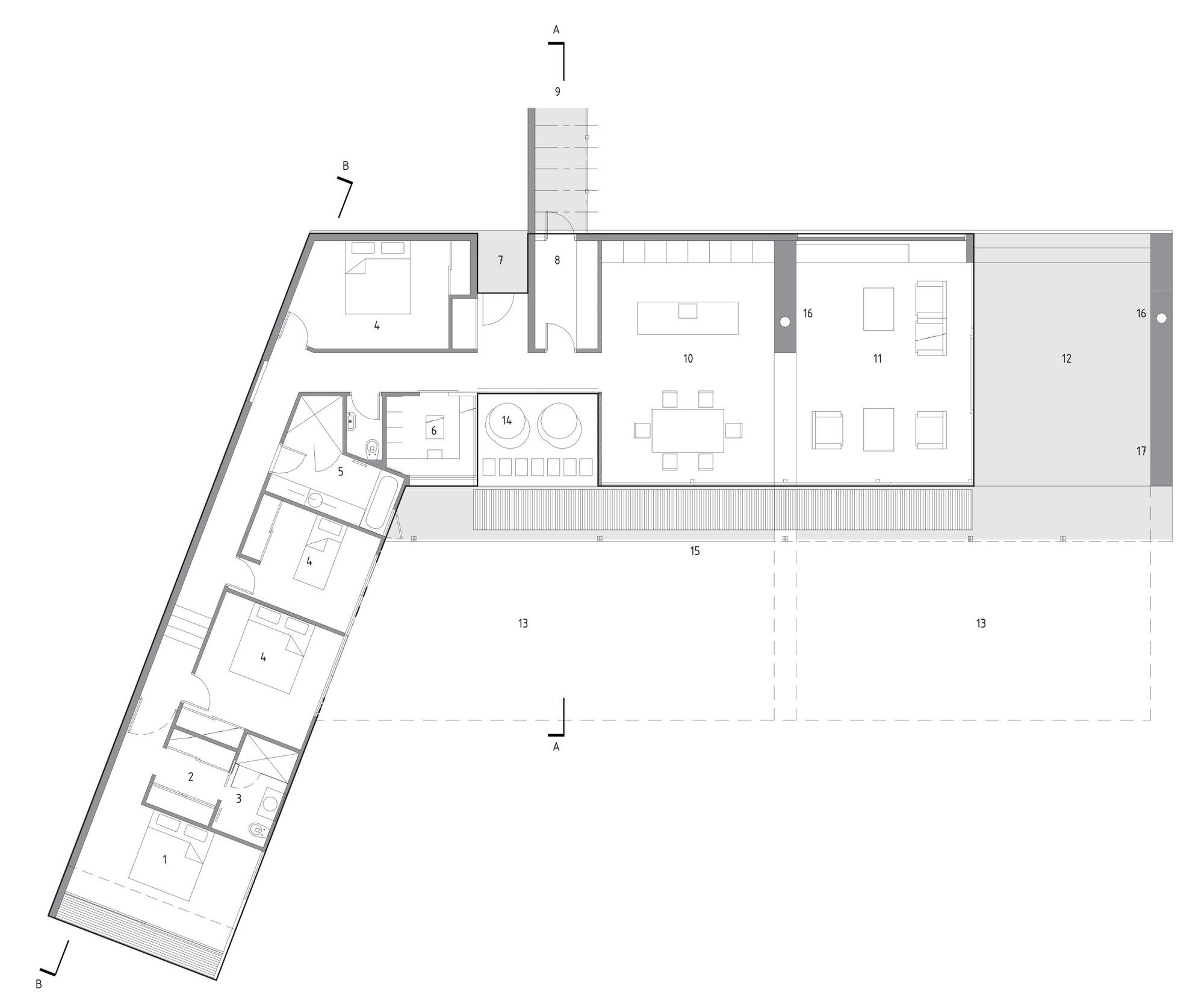 Gallery Of Brick Bay House Glamuzina Paterson Architects