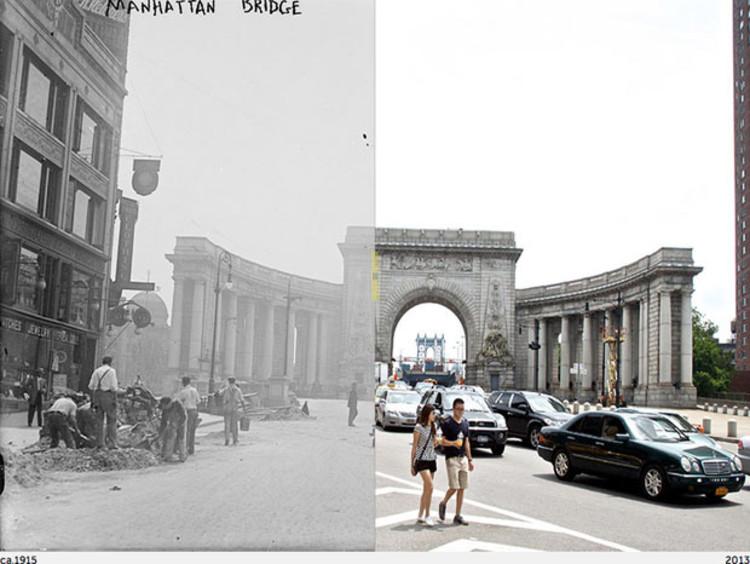 Arte e Arquitetura: Fotografias interativas de Nova York mostram a mudança da cidade., © Paul Sahner/NYC Grid