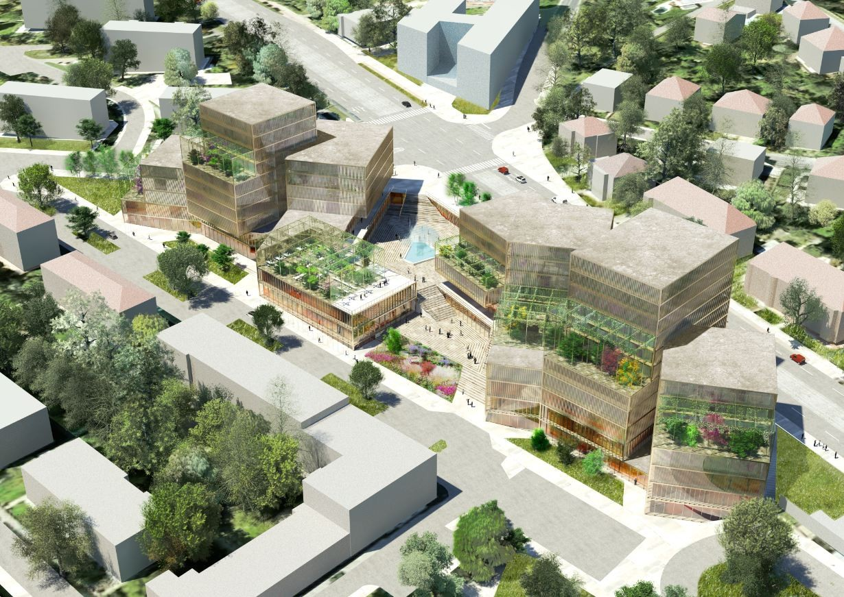 Red Hill Rise Proposal / Maxwan + MS architekti, Courtesy of Maxwan