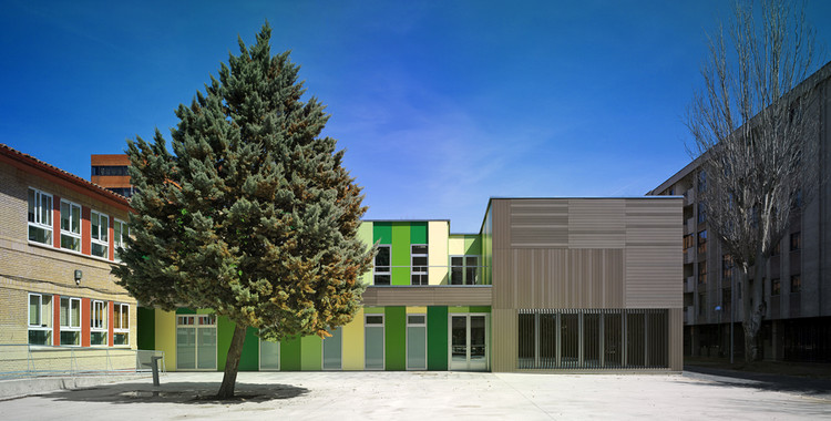 Extension Of The Fray Pedro Ponce De Leon Special Education School / A3gm Arquitectos, © Jesús Granada