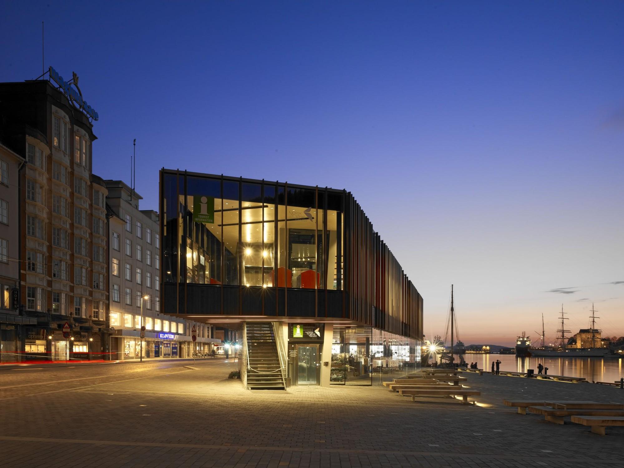 Fish Market In Bergen Eder Biesel Arkitekter Archdaily