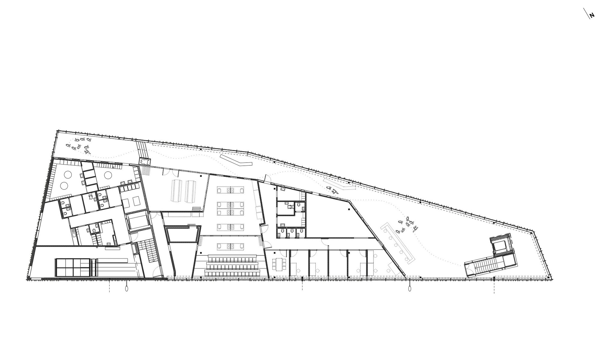 Boat Floor Plans Gallery Of Fish Market In Bergen Eder Biesel Arkitekter 21