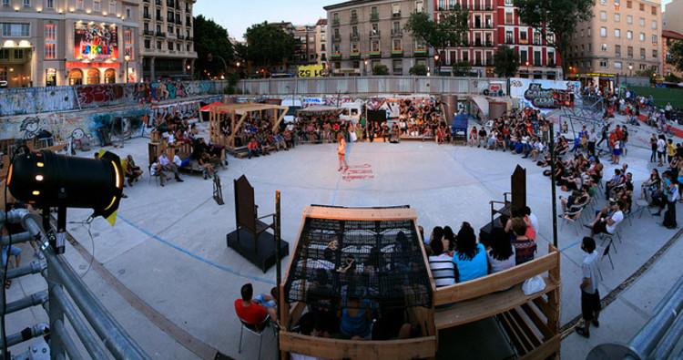 """""""Campo de Cebada"""" em Madri: um projeto local de autogestão artística, Cortesia de Ars Electronica"""