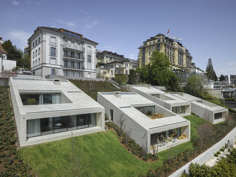 Urban Villas / alp Architektur Lischer Partner