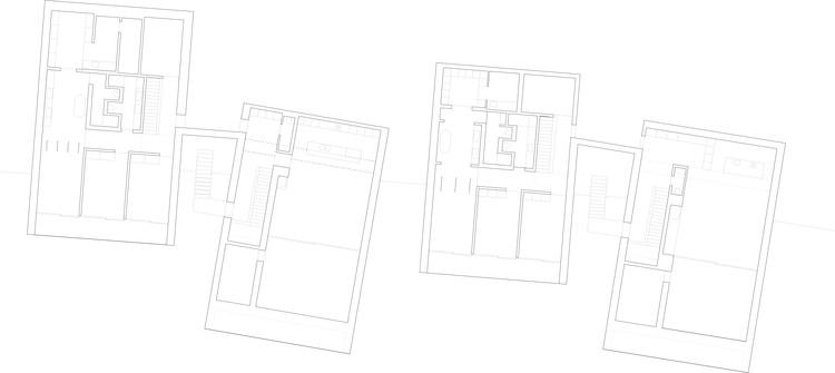 Urban villas alp architektur lischer partner archdaily - Architektur plan ...