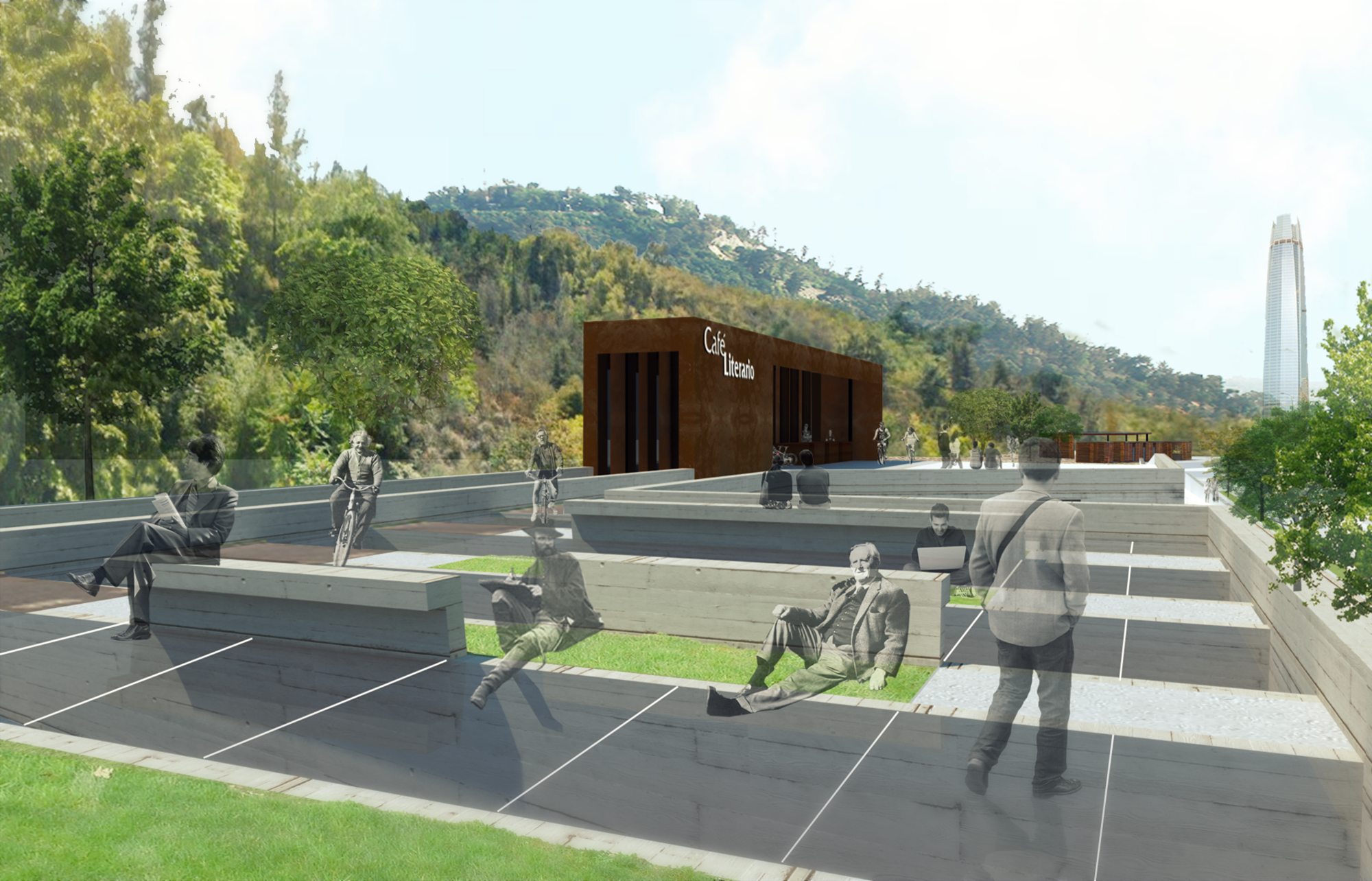 """III Concurso de Arquitectura Electrolux Fensa/Mademsa """"Proyectando un espacio público para la  integración comunal"""" / Categoría Estudiantes, Courtesy of Equipo primer lugar"""