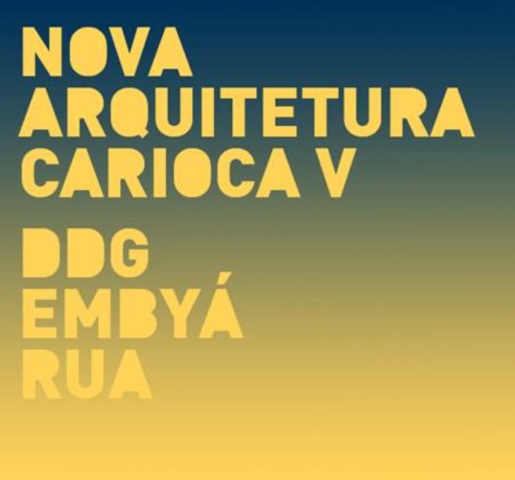 """Palestra """"Nova Arquitetura Carioca V"""" no Studio-X Rio"""