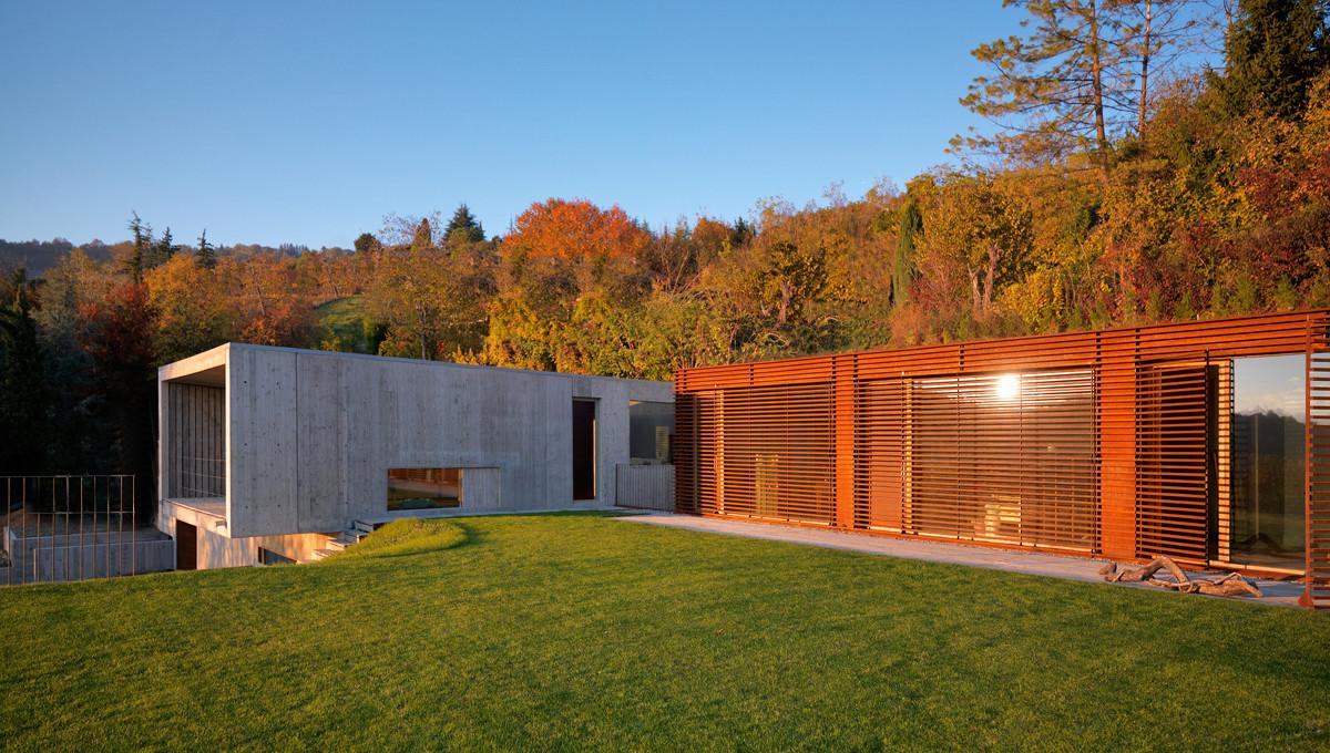 Gallery of casa y f l architetti 8 for Log casa architetti