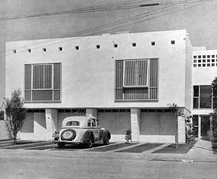 Clásicos de Arquitectura: Edificio Multifamiliar en Calle Roma / Teodoro Cron, © Cortesía de El Arquitecto Peruano de abril de 1950