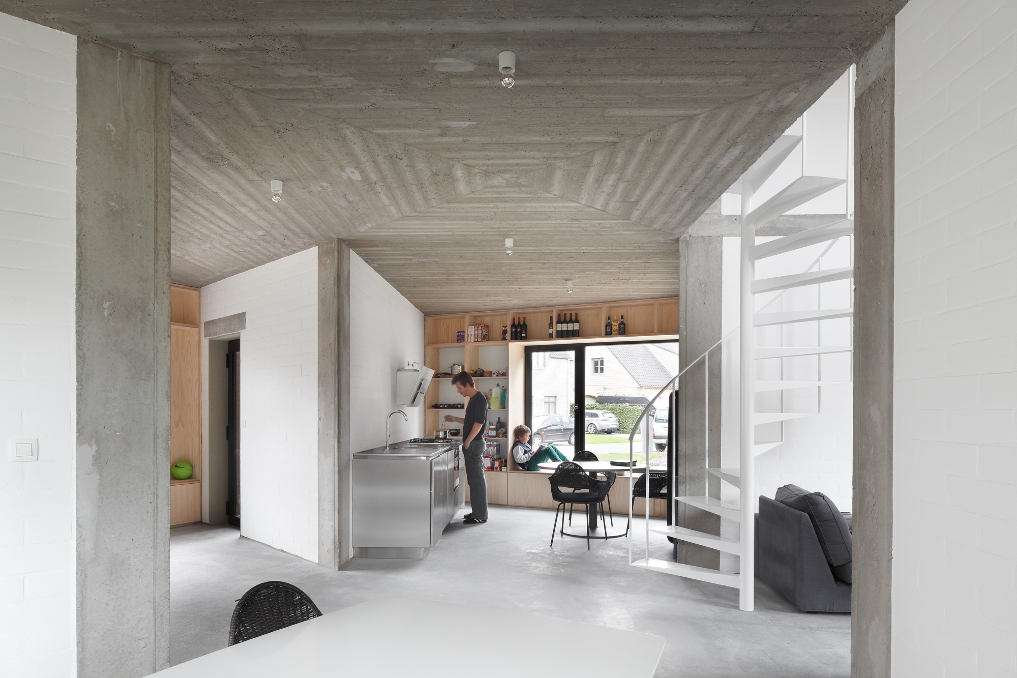 woning boW te Wondelgem / BLAF Architecten, © Stijn Bollaert
