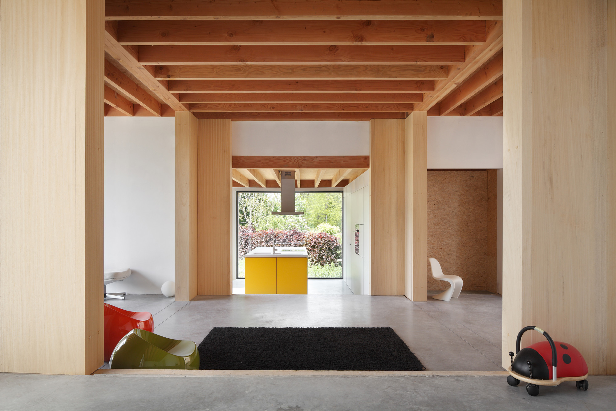 Gallery of dna house blaf architecten 5 for Enfilade architecture