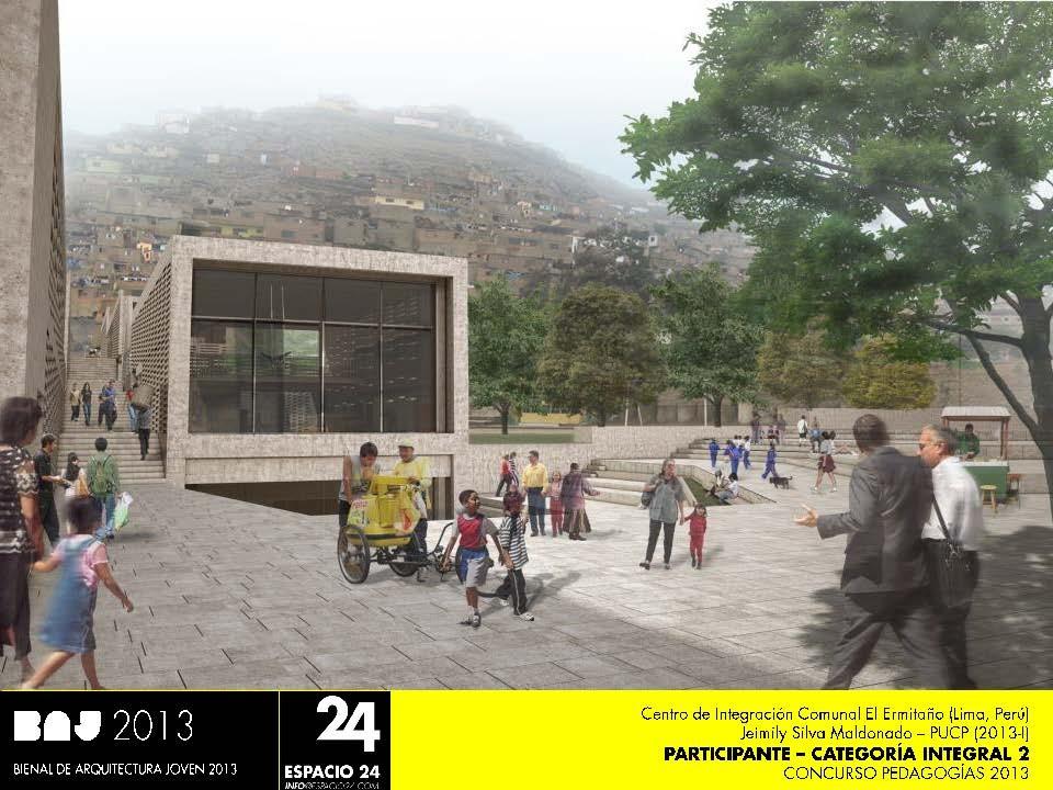 """Anuncian proyectos Seleccionados  """"Pedagogías 2013"""" / BAJ Perú, Courtesy of Espacio 24"""