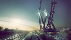UNStudio projeta observatório em roda gigante no Japão.