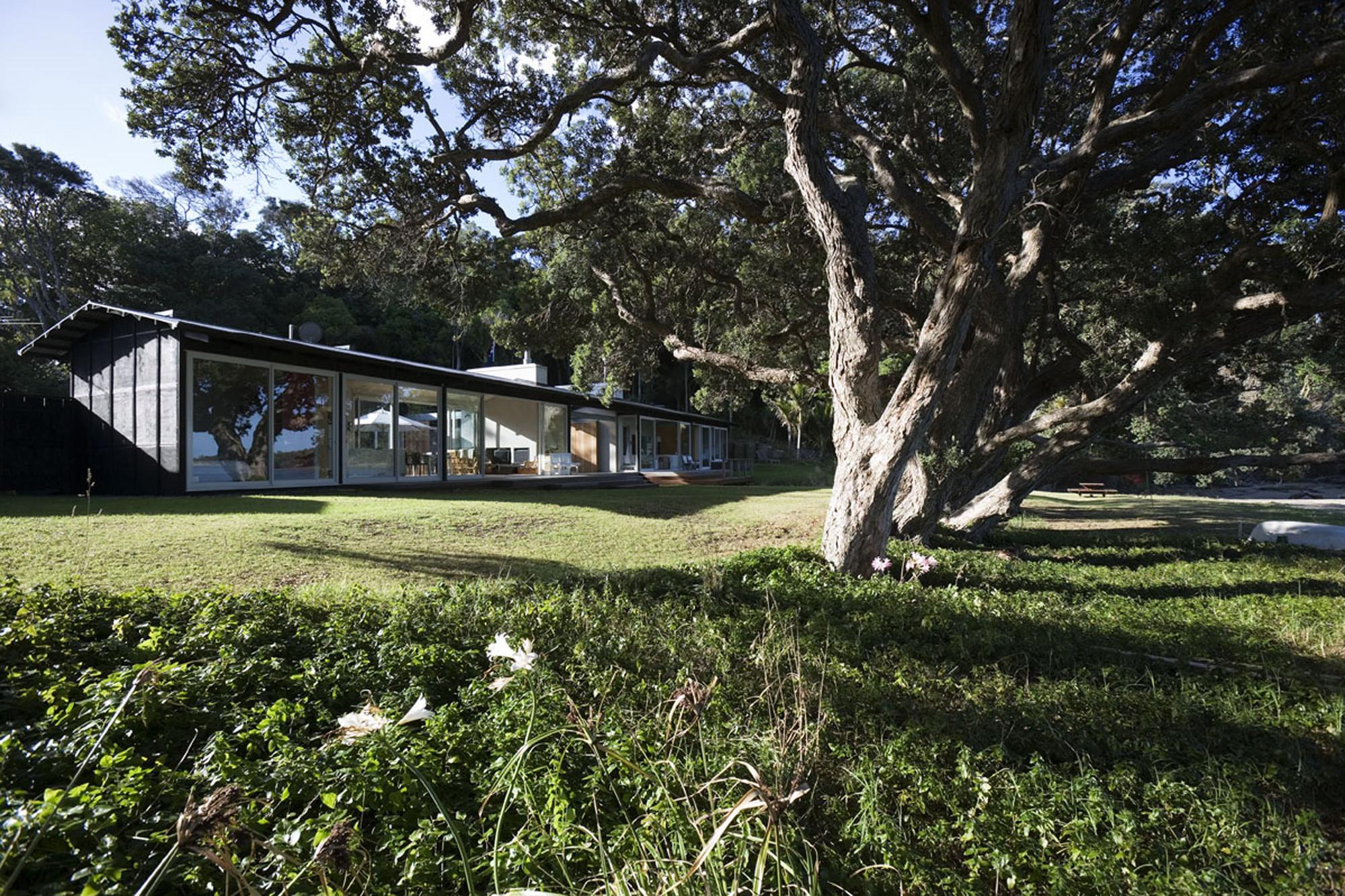 Large House Plans Gallery Of Tawharanui House Rta Studio 7