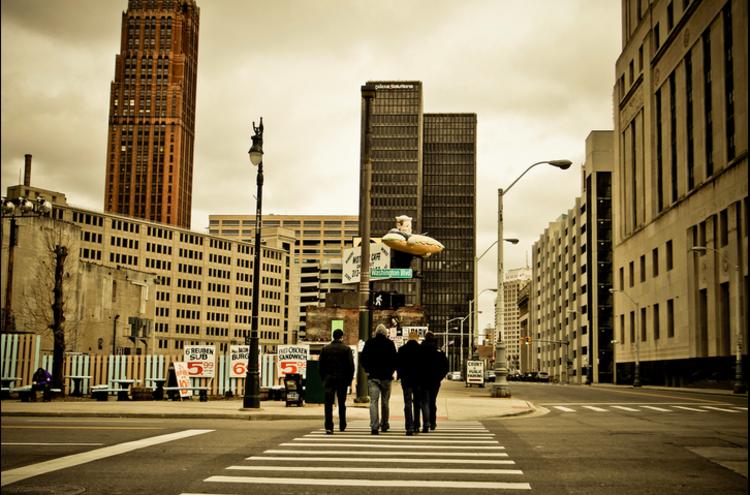 "Como as ""startups"" poderiam salvar Detroit, © Via Flickr © Atomic Object"