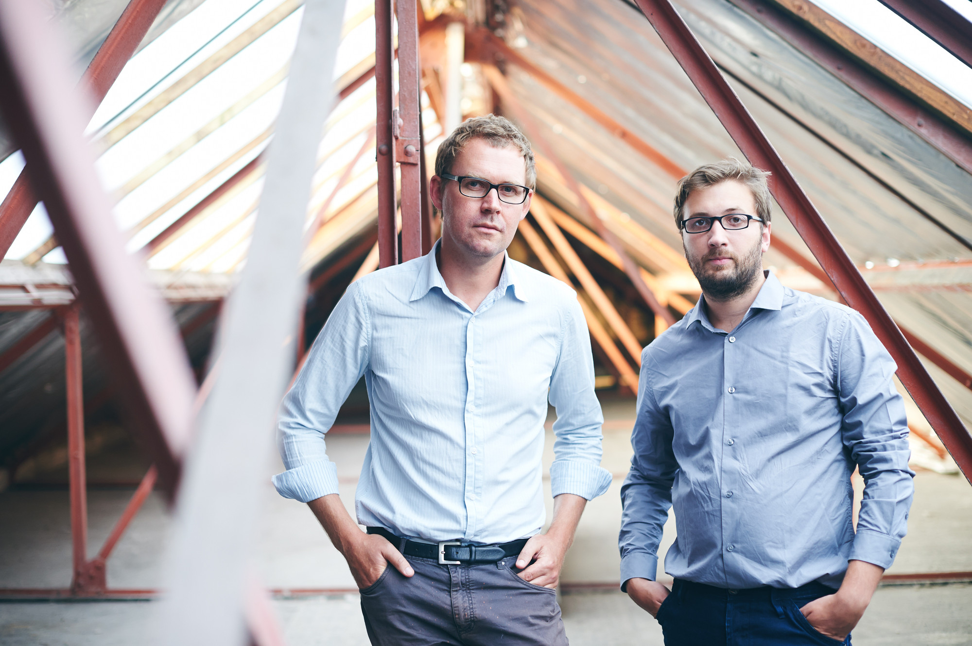 AD Interviews: Rotor, Curators of the Oslo Architecture Triennale, Lionel Devlieger and Maarten Gielen © Benjamin Brolet