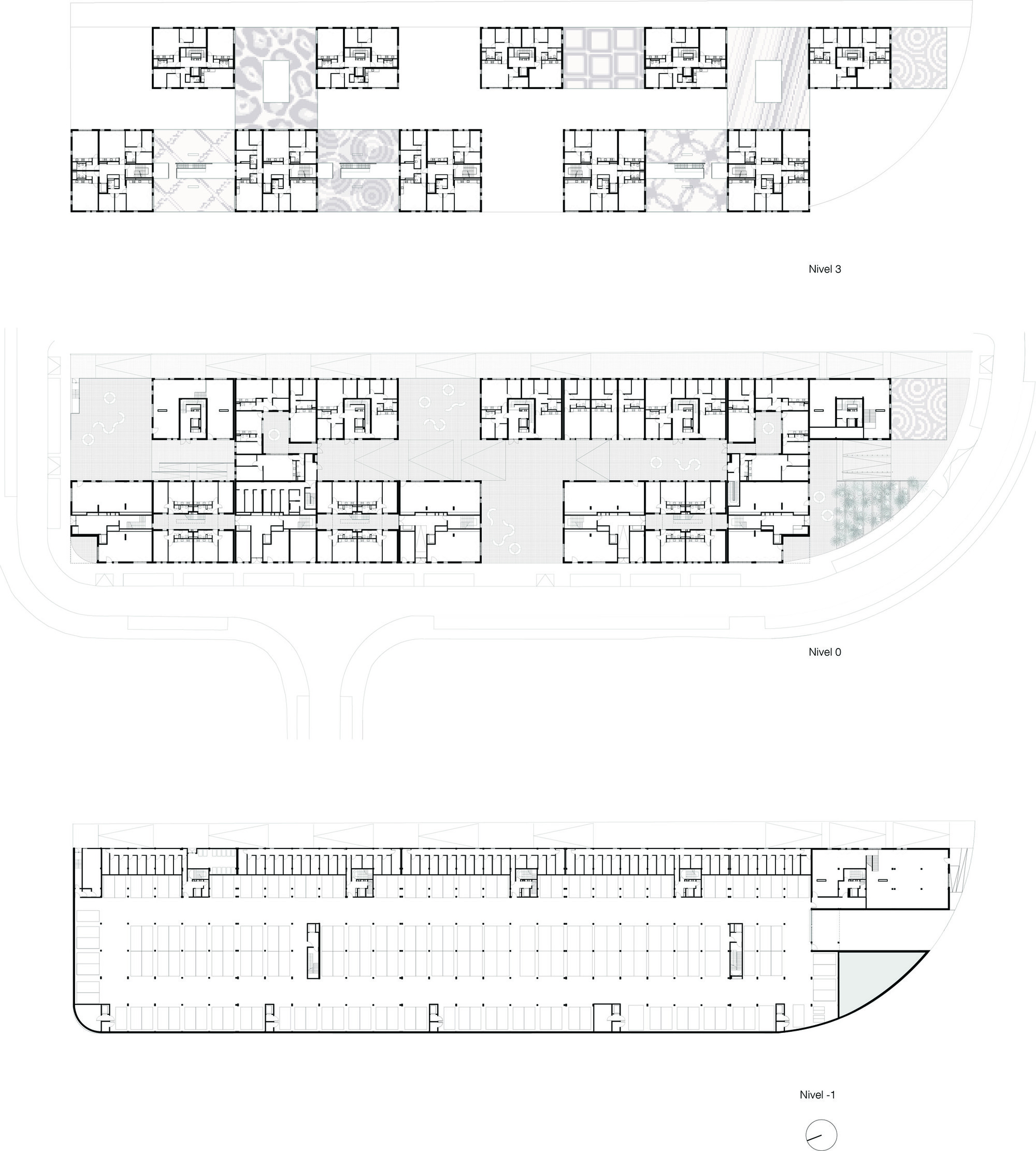 Gallery of social housing in ceuta ind inter national for Plan social