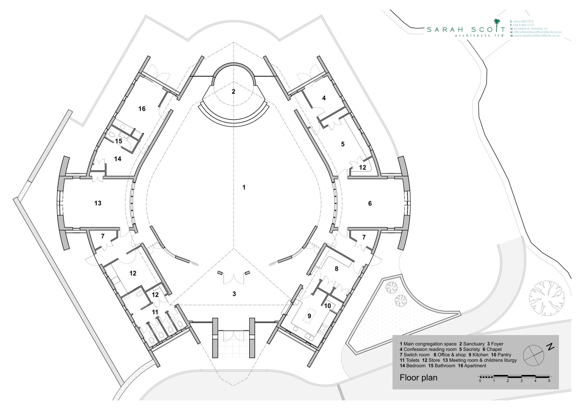 Gallery Of Wanaka Catholic Church Sarah Scott Architects