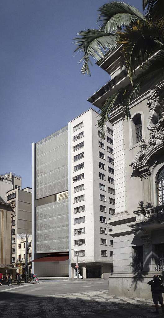 Novo Edifício da Biblioteca da Faculdade de Direito da USP / Vinicius Mazzoni, Akanoe Martins Ferreira e Giuliana Siqueira Mocelin, Cortesia de Vinicius Mazzoni