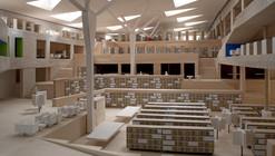 BNL Bibliothèque Nationale de Luxembourg / BOLLES+WILSON