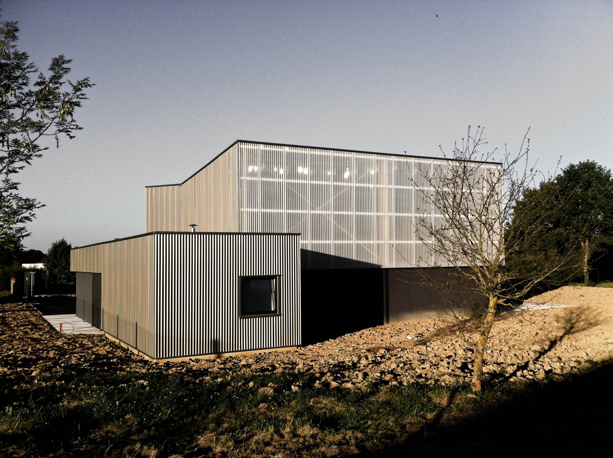 Technical Building in La Fouillade / V2S Architects, Courtesy of V2S Architects