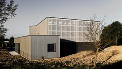 Technical Building in La Fouillade / V2S Architects