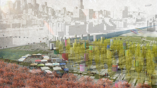 Fieldshift by Erik Jensen and Justin Richardson. Image Courtesy of The Center for Architecture + Design
