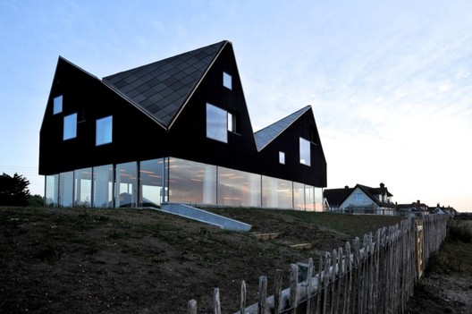 "Dune House / JVA. One of the ""Living Architecture"" Homes. Image © Nils Petter Dale"