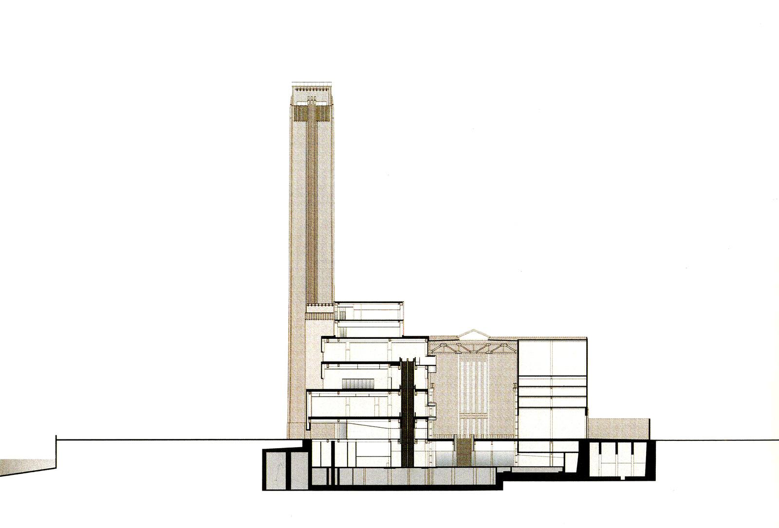 Gallery Of Ad Classics The Tate Modern Herzog Amp De