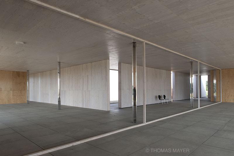 Schon Mies Van Der Rohe Golfclubhaus   1:1 Model,© Thomas Mayer