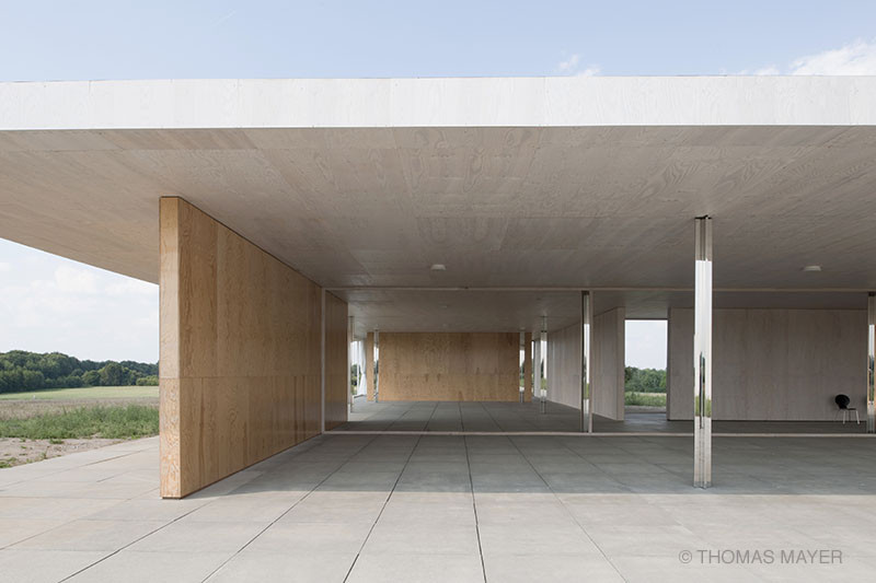 Mies Van Der Rohe Golfclubhaus   1:1 Model,© Thomas Mayer