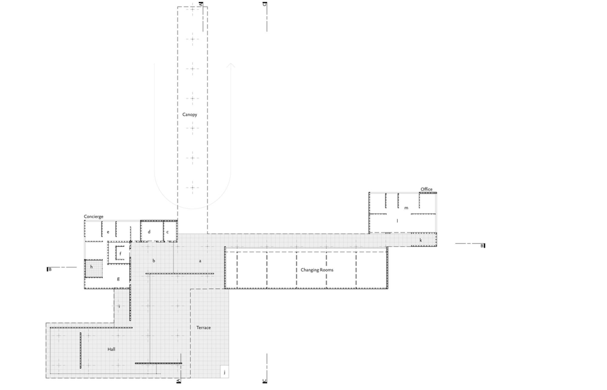 Mies van der Rohe Golfclubhaus - 1:1 Model / Robbrecht en ...