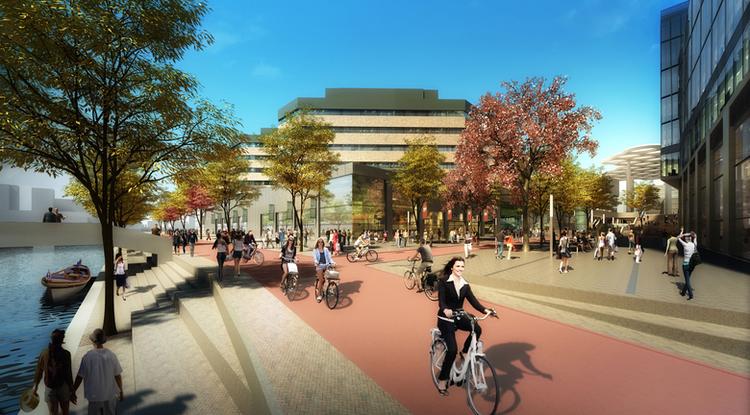Holanda terá o maior estacionamento de bicicletas do mundo, Via Plataforma Urbana