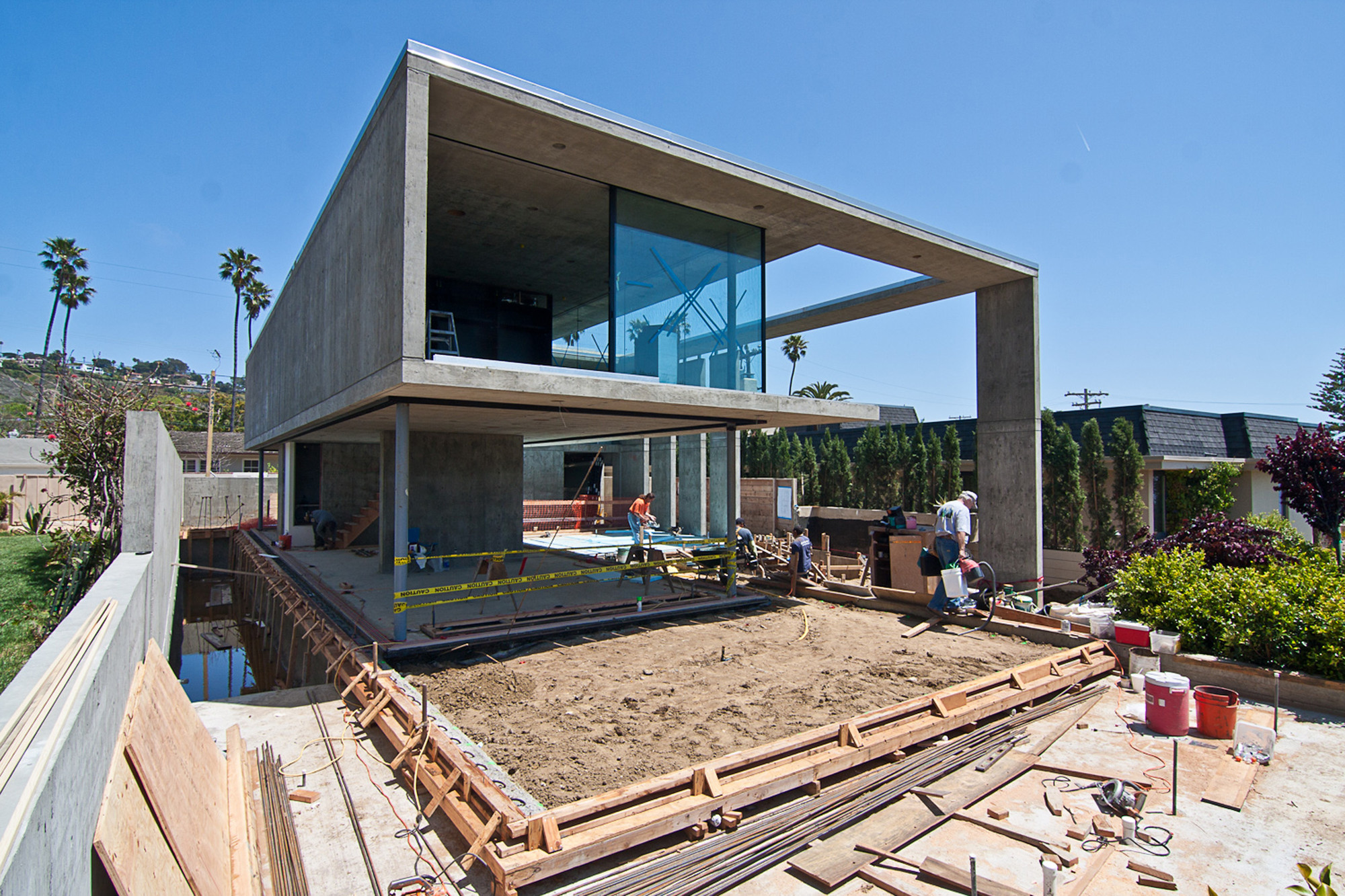 Building A Concrete House