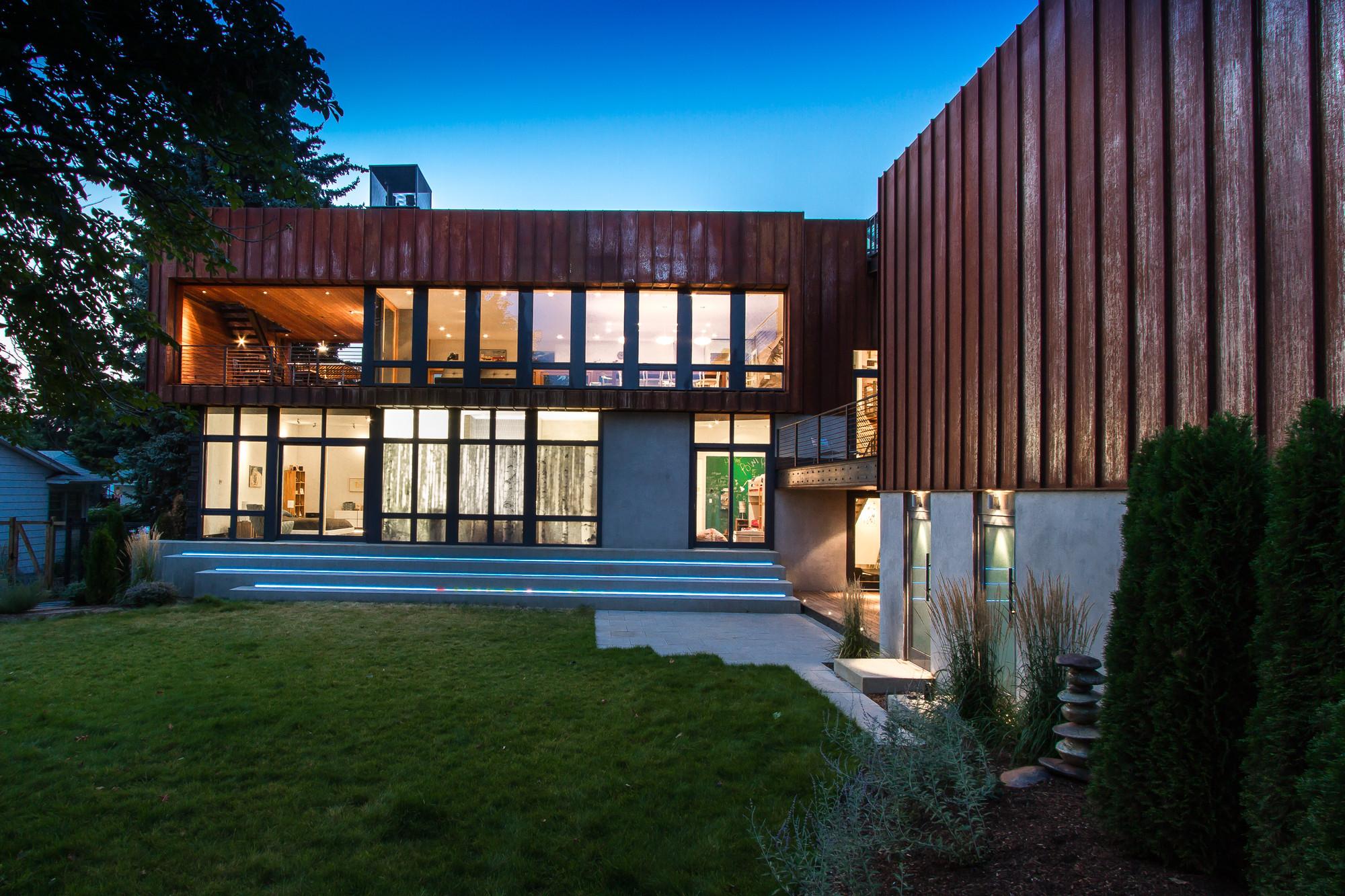 Green Eco Friendly Homes Design