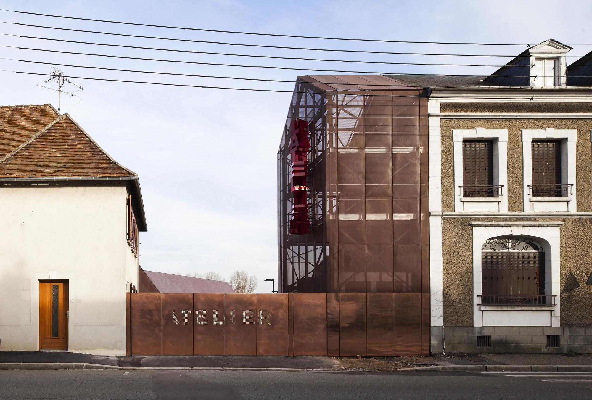 L'Atelier / AAVP Architecture, © Luc Boegly
