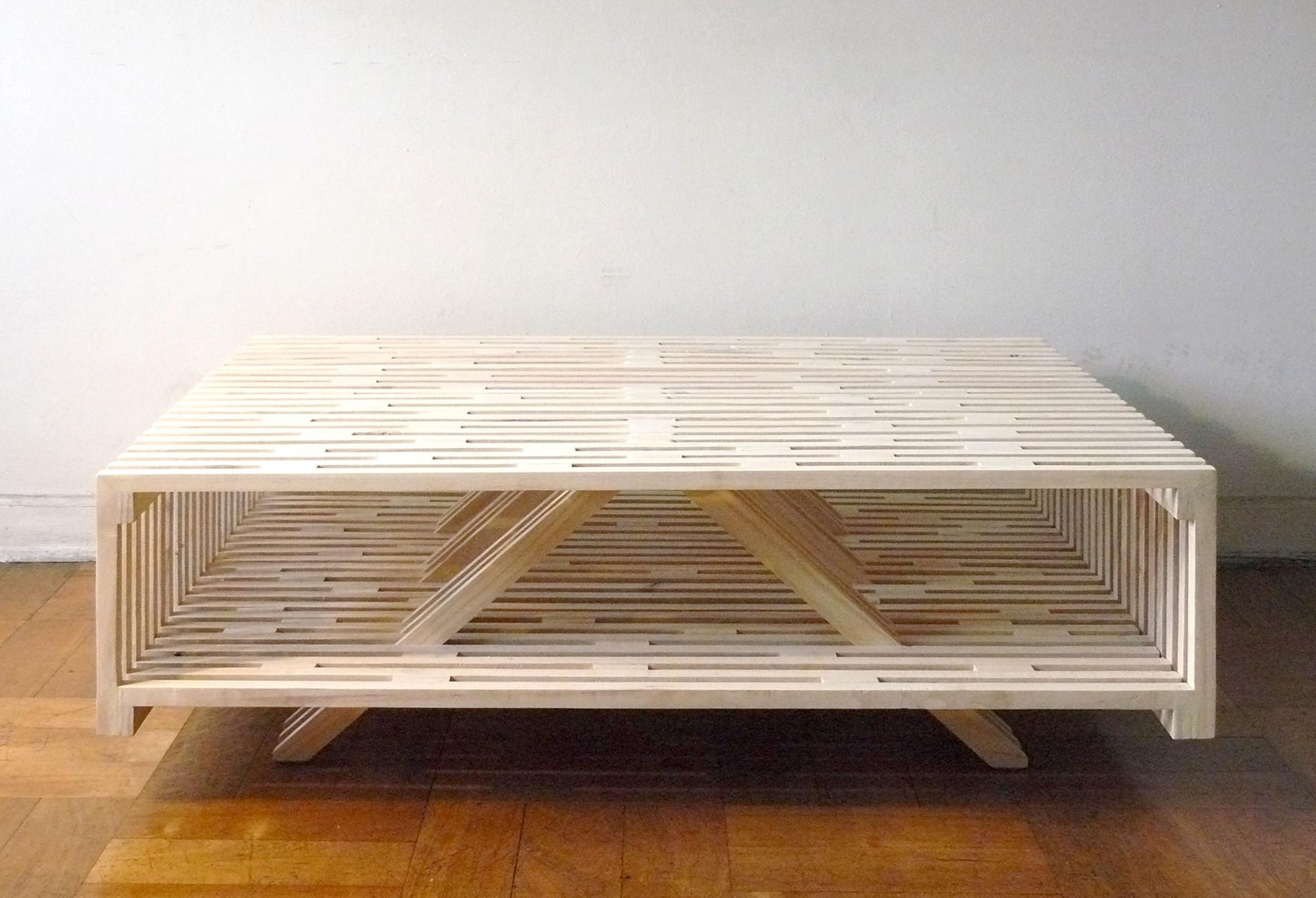 Mesa de centro a sebasti n erazo plataforma arquitectura - Mesas de centro estrechas ...