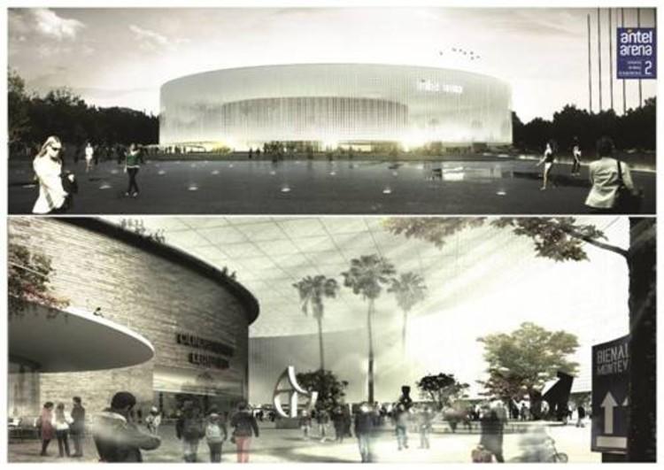 METRO arquitetos é finalista para projeto de arena em Montevidéu, Uruguai