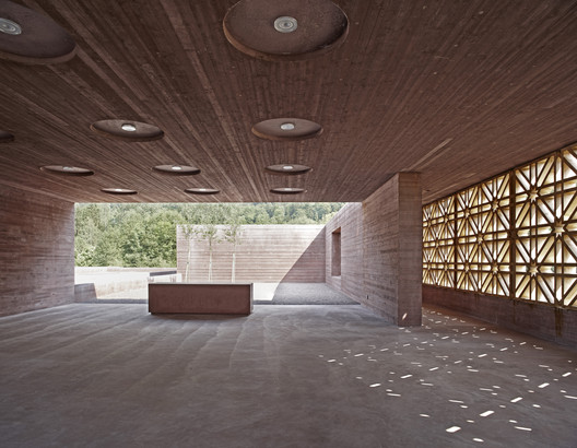 Islamic Cemetery, Altach, Austria / Bernado Bader Architects. Image © AKAA / Adolf Bereuter