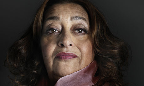 Zaha Hadid: Has International Fame Come at a Cost?, © Marco Grob, via The Guardian