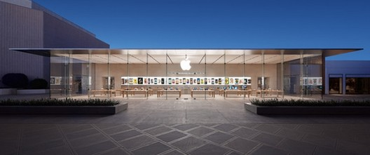 Apple Store at Stanford Shopping Center in Palo Alto, California. Image Courtesy of Wall St Cheat Sheet