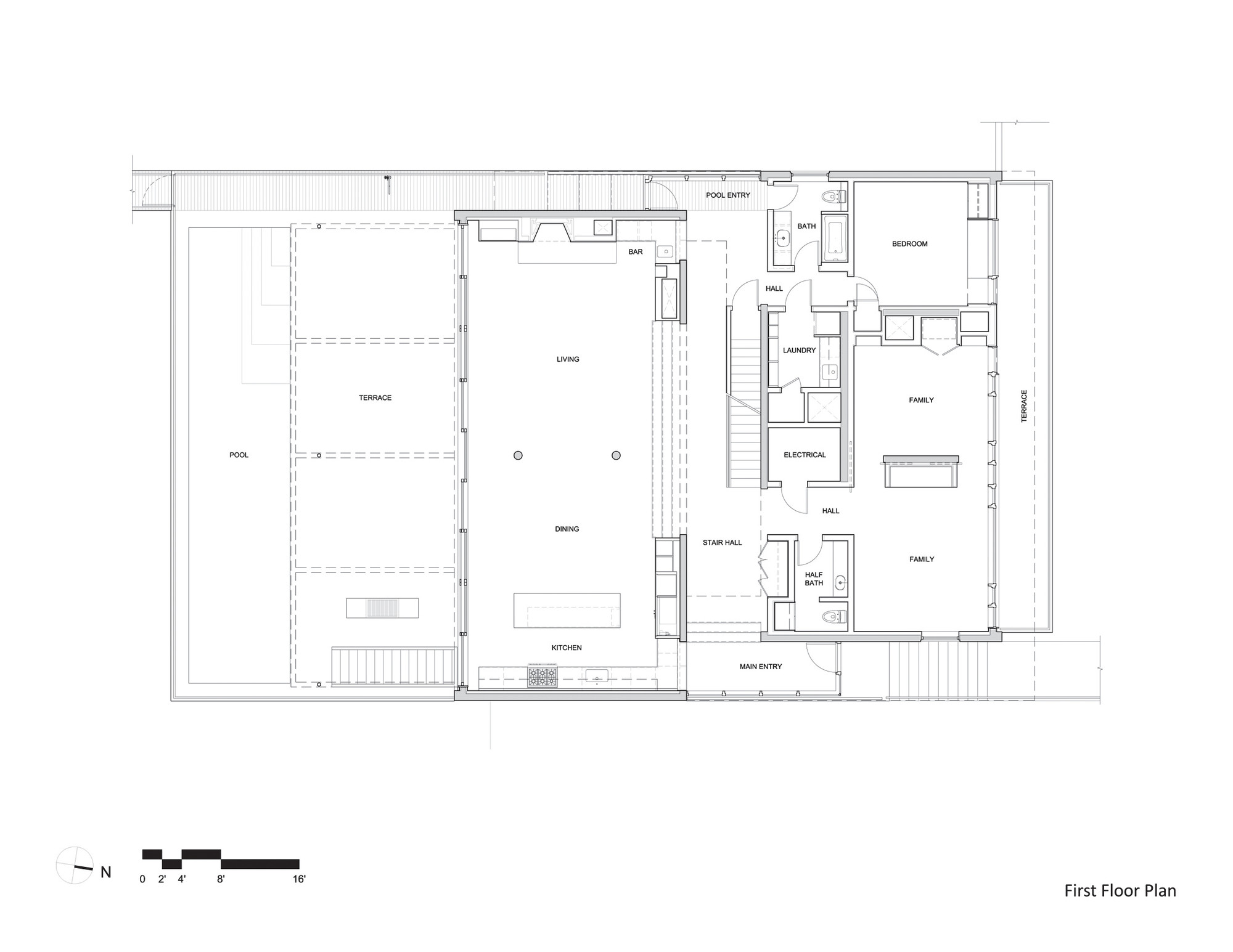 gallery of beach house aamodt plumb architects 20