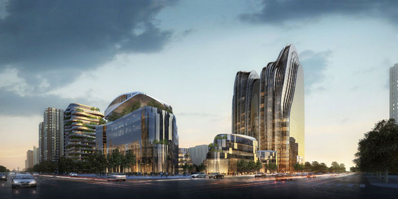 Chaoyang Park Project / MAD Architects, © MAD Architects