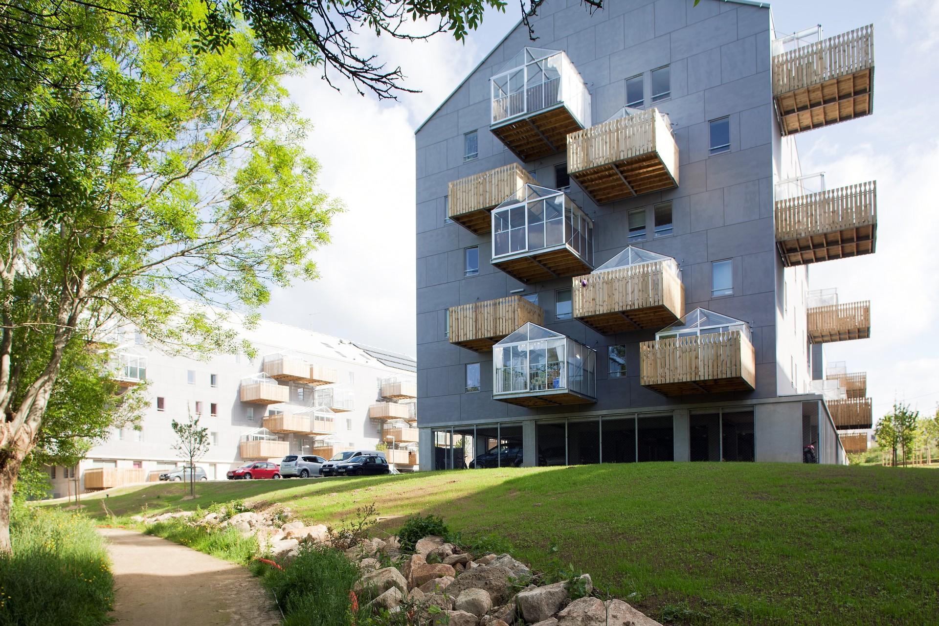 pradenn housing block architectes archdaily. Black Bedroom Furniture Sets. Home Design Ideas